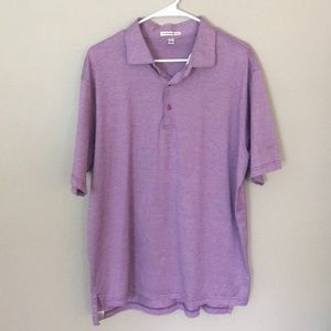 Peter Millar Purple Polo Shirt